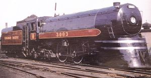 Jubilee 3003 speed record steam locomotive