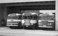 Cardinal coaches at Park Hotel Red Deer 1949