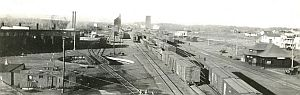 Mirror rail yard 1928