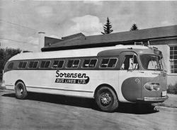 Sorensen Bus 1946 Flxible Clipper