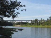 ACR CPR Mintlaw trestle across Red Deer River