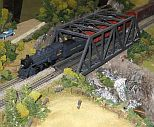 model railroad show at Big Valley