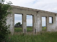 CNR Big Valley roundhouse ruins