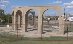 'The Arches' under construction
