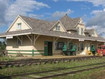 Stettler Canadian Northern railway station