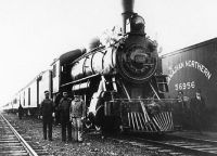 Canadian Northern locomotive 1913