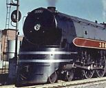 CPR Jubilee F2 semi-streamlined locomotive